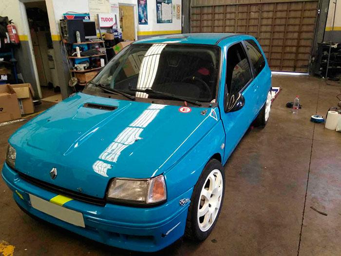 Antes de la rotulación en Renault