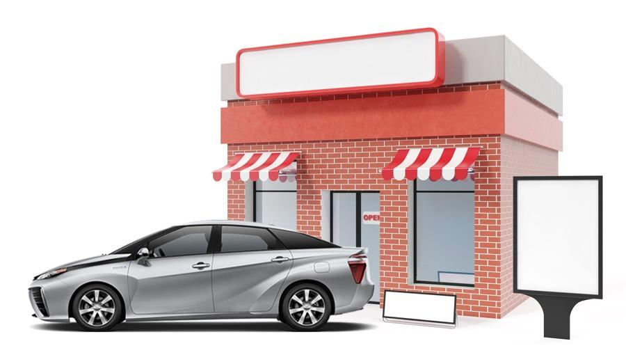 rotulacion de coches y fachadas en Sirauto